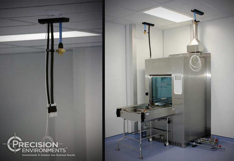 medical device cleanroom construction